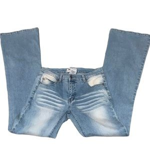 Hydraulic Jeans Size 3/4 Bleach Fade Jeans
